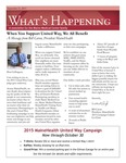 What's Happening: September 21, 2015