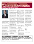 What's Happening: August 19, 2013