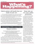 What's Happening: September, 2004
