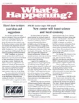 What's Happening: October, 2003
