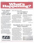 What's Happening: February, 2003