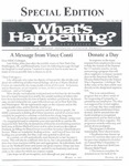 What's Happening: Special Issue, September 20, 2001
