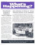What's Happening: September 12, 2001