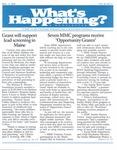 What's Happening: April 12, 2000
